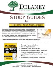 Sales Flyer created for Mometrix Test Preparation