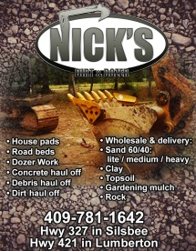 Facebook Ad Created for Nick's Dirt and Dozer